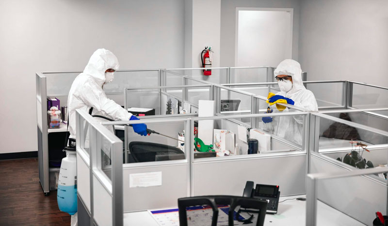 Sanificazione ambienti di lavoro