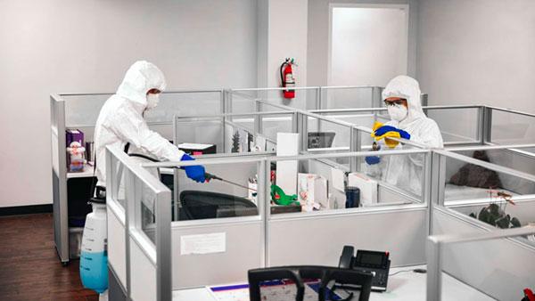 Sanificare ambienti di lavoro